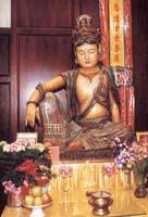 Ancient Kuan Yin Statue