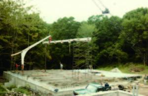 千蓮台完工後開始建造齋堂